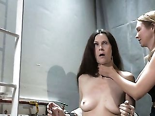 Ultra-cute Woman Paintoy Emma Involved In Breath Games By Her Mistress